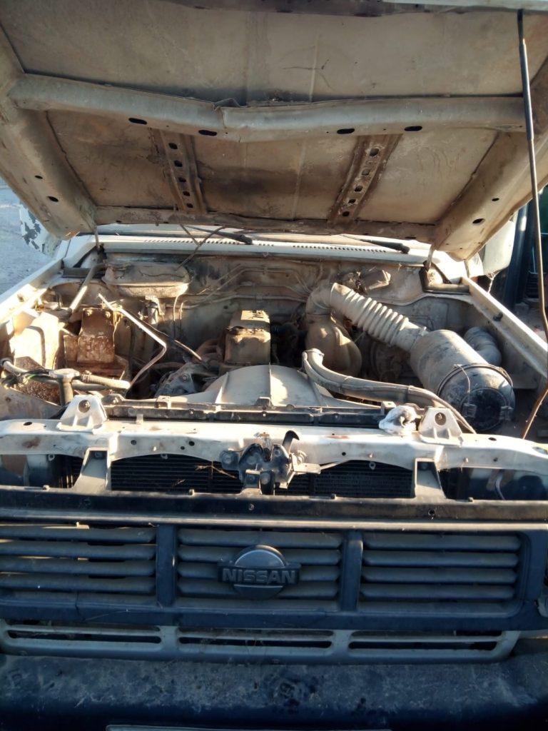 Nissan Patrol motor llantas puertas cristales puertas manetas manguetas discos de freno cambio motor de calefaccion limpiaparabrisas